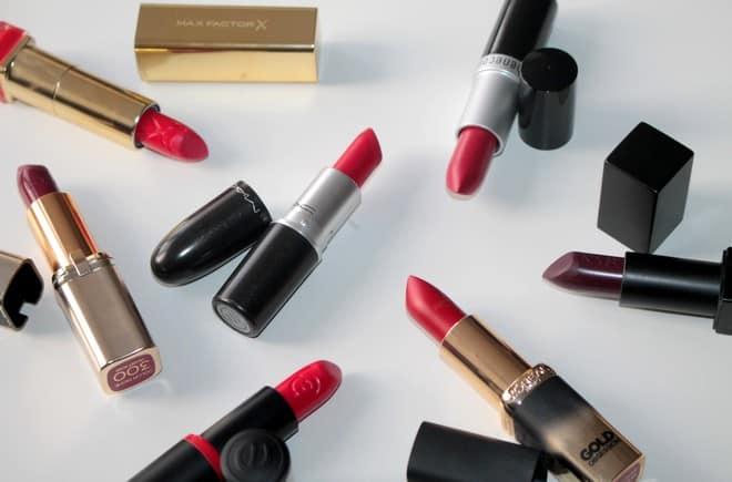 lipstick voor de feestdagen