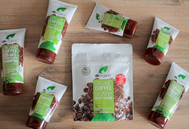 Dr Organic coffee fresh mint